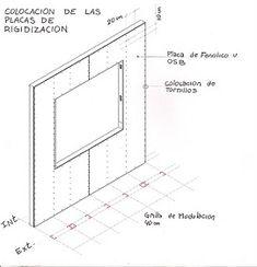CONSTRUCCIONES: marzo 2011 Metal Stud Framing, Steel Framing, Steel Frame House, Steel House, Drywall, Backyard House, Getaway Cabins, Roof Structure, Calming Colors