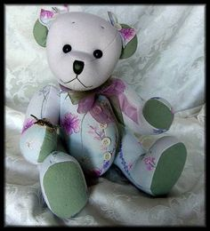 Easy Free teddy bear sewing pattern. Good for the girls to ...