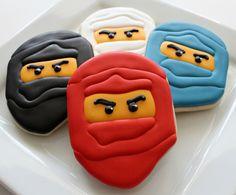 Easy Ninjago Cookies by SweetSugarBelle, via Flickr