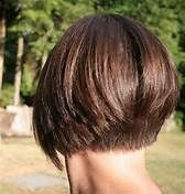 Short inverted bob hairstyles are parts of short bob haircuts. It has a short style just like other short bob. It is not far from the other short bob, inverted Bob Hairstyles For Fine Hair, Hairstyles Haircuts, Wedge Hairstyles, Back Of Bob Haircut, Pixie Haircut, Short Inverted Bob Haircuts, Funky Haircuts, Asymmetrical Haircuts, Stacked Haircuts