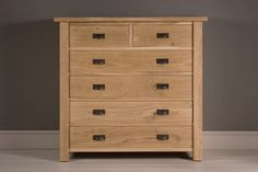 The Oak Wideboy is hand built from solid oak. It can be customised with a blanket drawer and a choice of iron cast handles. Indigo Furniture, Chest Of Drawers, Solid Oak, Wood, Minimal Living, Bedroom Ideas, Home Decor, Living Room, Drawer Unit