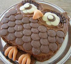Fan My Flame: food Owl on victoria sponge