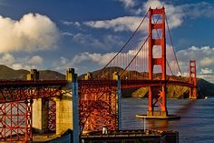 San Francisco golden gate bridge southeast viewpoint