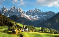 Альпы – горы в сердце Европы