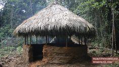 Liked on YouTube: Primitive Technology: Round hut