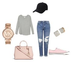 """Cute n Comfy"" by smbklyn on Polyvore featuring Topshop, Michael Kors, Converse, Keds and Kate Spade"