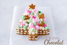 Pizza Birthday Cake, Cookie Cake Birthday, Christmas Goodies, Christmas Desserts, Christmas Cakes, Christmas Stuff, Fruit Pizza Cups, Rainbow Desserts, Tree Cakes
