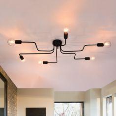 #semiflushmout #ceilinglight #livingroomdecor #bedroomdecor #modernstyle #modernlighting #linear