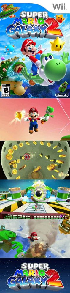 Super Mario Galaxy 2 could be the best game ever made for the Nintendo Wii! Nintendo Room, Nintendo Wii, Gamer News, Power Star, Video Game Collection, Sega Dreamcast, Galaxy 2, Classic Video Games, Wii Games