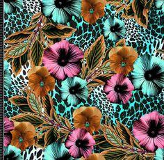 Estampa Febratex | Flickr -  /jaquelinemiranda Surface Design - print - pattern