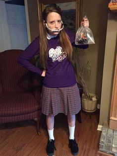 """""""I love this costume because it's original and so easy!"""" - Grace"""