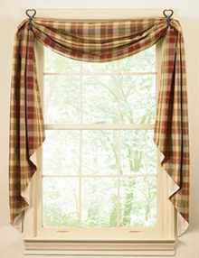 Primitive Window Treatment Ideas Country Treatments European Style Rustic