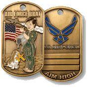 Military Brat Dog Tags