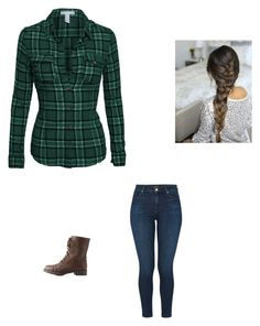 """Meeting Rick Again"" by maryvarleyrox ❤ liked on Polyvore featuring Charlotte Russe and J Brand"