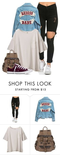 """""""{ the only way i'm leaving i dead, thats the state of my state of my state of my head}"""" by ridiculousness444 ❤ liked on Polyvore featuring Uniqlo, Wilsons Leather, Converse, women's clothing, women, female, woman, misses and juniors"""
