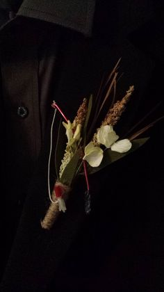 Fishing Wedding Boutonniere Boutineer  Mixed by TheRusticPorch