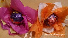 Creme Egg Flowers!
