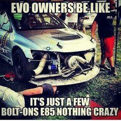 #Car_Memes #Evo_Owners