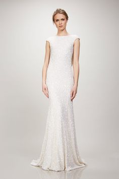 Shop Theia's elegant collection of simple and sleek, romance and minimalist inspired wedding dresses. a&bé bridal shop is an official Theia wedding dress retailer. Theia Bridal, Bridal Gowns, Wedding Gowns, Wedding List, Wedding Ideas, Wedding Bells, Lace Wedding, Meghan Markle, V Neck Dress