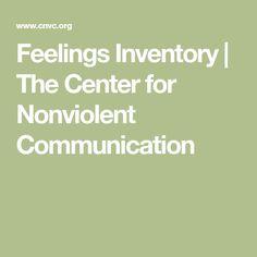 Feelings Inventory |
