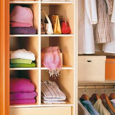 59 Scarf Storage Ideas That Inspire Scarf Storage, Cube Storage, Closet Storage, How To Store Scarves, Organize Scarves, Scarf Organization, Bedroom Organization, Dressing Room Closet, Dressing Rooms