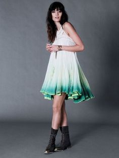 f85c4df142ca Free People FP ONE Sweet Upon The Seat Dress S Small NWT  FreePeople   ShiftDress