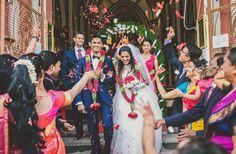Beautiful Christian wedding at Pondicherry