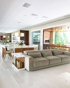 design is an option of comfort and the way it appears. Our Queensland designs provide flexibility that permit you the ability to be a partner in the plan and style choices of your house. Living Room Ideas 2018, Living Room Decor, Living Area, Living Rooms, Interior Design Living Room, Living Room Designs, Kitchen Interior, Modern Interior, Open Plan Kitchen Living Room