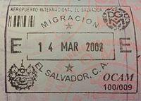 El Salvador Passport Stamp, March 2002.jpg
