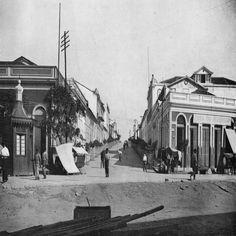 Rua dos Remédios. Manaus. Álbum do Amazonas 1901-1902.