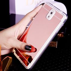 Mirror Soft Cover For Samsung Galaxy