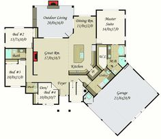 Plan 85130MS: Modern Masterpiece with Up to 5 Beds