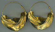 Brass Fulani Earrings
