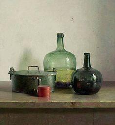 От Henk Helmantel (голландский, 1945) Картина маслом  Частная коллекция http://www.helmantel.nl/ #Helmantel #Dutcht #StillLife  «Henk Helmantel (1945), является одним из сегодняшних самых популярных и успешных реалист художников из Нидерландов.