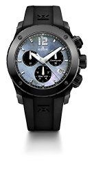 Edox Women's 10411 37N NANN Chronoffshore Analog Display Swiss Quartz Black Watch