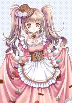 really love the hat Anime Hair, Manga Anime, Kawaii Girl, Kawaii Anime, Emo Princess, Twin Outfits, Tokyo Otaku Mode, Anime Kunst, Beautiful Anime Girl