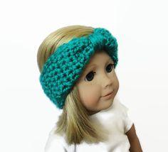 Green Doll Headband 18 Inch Doll by PreciousBowtique on Etsy