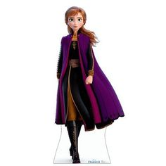 Everyone will love posing for pictures with our Disney Frozen II Anna Standee. This freestanding cardboard standee features an image of Anna from the Frozen II movie. Anna Disney, Princesa Disney Frozen, Disney Frozen 2, Olaf Frozen, Silhouettes Disney, Anna Et Elsa, Glinda The Good Witch, Frozen Wallpaper, Anna Dress