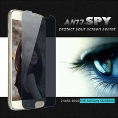 For Samsung Galaxy Tempered Glass S 6 Screen Protector By Privacy Anti Spy Peeping Film Tempered Glass Screen Protector, Samsung Galaxy S6, Spy, Good Things, Film, Watch, Movie, Clock, Film Stock