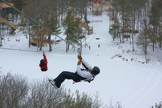 In the wintertime, Wisconsin Dells Indoor Waterparks provide hours of fun with the numerous slides, rides, and kids play areas. Although those are fun and exciting, it can sometimes be fun to get outside and explore some of the outdoor winter activities Wisconsin Dells has to offer! My favorite…Ziplining! Although you may think that Ziplining …