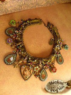 Vintage Michal Negrin necklace.