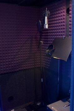 Sound booth in my home for recording!