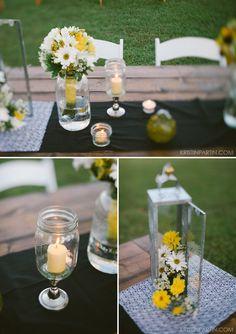sunflower wedding / amy & ruben / kristin partin photography / virginia wedding <3