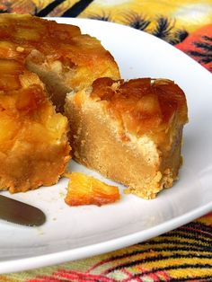 Pineapple Upside-Down Cake from Practically Raw Desserts by Amber Shea Crawley