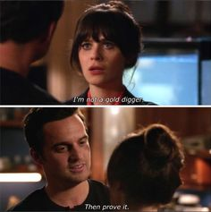 fuccccckkk the tension in this scene is REAL New Girl Memes, New Girl Funny, New Girl Quotes, Tv Quotes, Movie Quotes, New Girl Nick And Jess, Jake And Amy, New Girl Schmidt, New Girl Tv Show