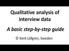 Analyse interviews dissertation