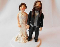 Customweddingcaketoppermexicanfiestathemeby100original custom wedding cake topper polymer clay wedding by creationsofclay junglespirit Image collections