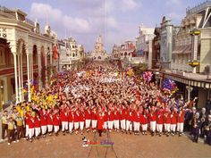 The opening day of Euro Disneyland / Disneyland Paris.  4,800 acres in Marne-la-Vallee, east of Paris.  April 12, 1992.