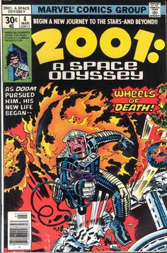 2001: A Space Odyssey (1976-1977) - Art by Jack Kirby