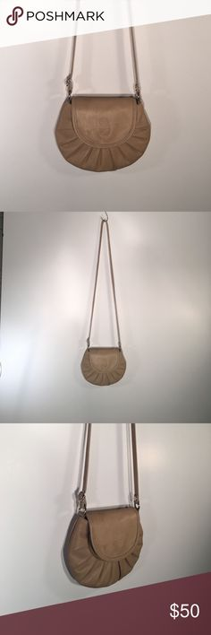 Tan Cross Body Purse From Italy and made from Italian leather! Bags Crossbody Bags